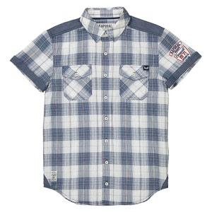 Camisa de mangas curtas aos quadrados 10-16 anos KAPORAL 5