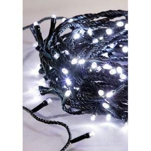 Guirlande électrique XL blanc glacier - Intérieur ou extérieur - 300 LED - A positionner sur 30m - 8 jeux de lumière ! NONAME