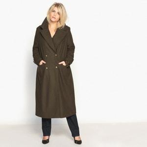 Lange jas in military stijl CASTALUNA