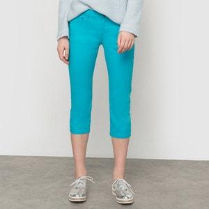 Stretch Cotton 5-Pocket Cropped Trousers R essentiel