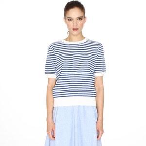 Short-Sleeved Striped Jumper/Sweater PEPALOVES