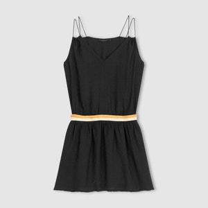 Kleid, schmale Träger COLOR BLOCK