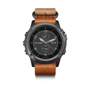 fenix 3 Saphir - Cardiofréquencemètre - bracelet en cuir/nylon inclus marron/noir GARMIN