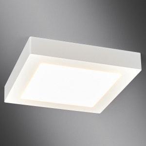 Plafonnier LED blanc Rayan, carré, salle de bains LAMPENWELT