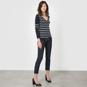 Wool Mix Striped Cardigan R essentiel
