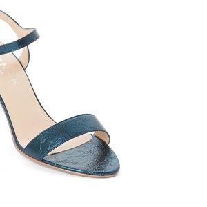 Leren sandalen met naaldhak JONAK