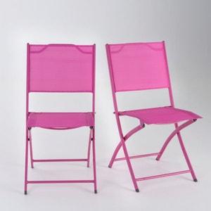 Set of 2 Folding Garden Chairs LES PETITS PRIX
