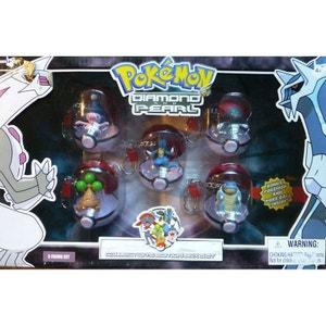 Pokemon Diamond and Pearl pack 5 porte-clés PVC POKEMON