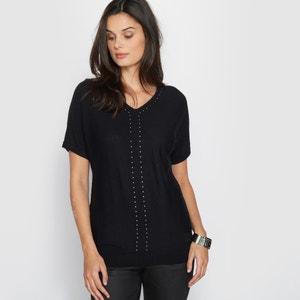 Studded Jumper/Sweater, 10% Wool ANNE WEYBURN