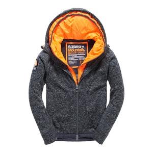 Sweater met rits en kap Storm Blizzard Ziphood SUPERDRY