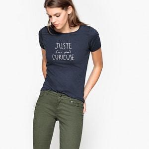 Tee shirt col rond en coton R essentiel