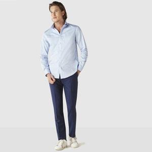 Sharani Satin Cotton Straight Cut Shirt CELIO