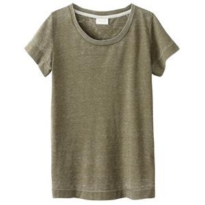 Short-Sleeved Crew Neck T-Shirt VILA