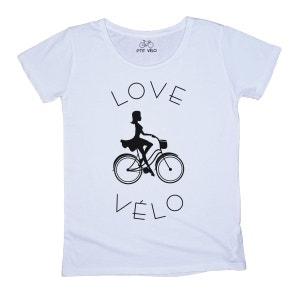 T-shirt Femme Love Vélo P TIT VELO