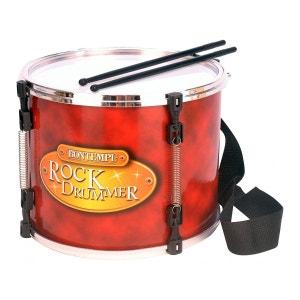 Grand tambour de marche avec bandoulière et baguettes BONTEMPI