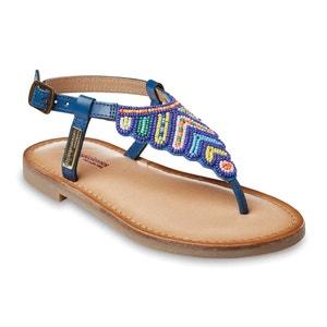 Leren sandalen LES TROPEZIENNES PAR M.BELARBI