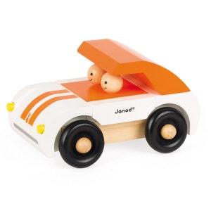 Voiture magéntique en bois : Kit Magnet Roadster JANOD