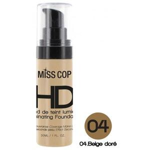 Fond de Teint Lumières HD Miss Cop - 04 Beige Doré MISS COP