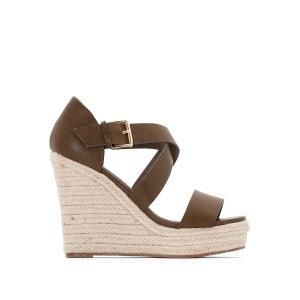 Sandales talon compensé 314034 BUFFALO