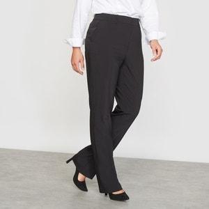 Straight Tailored Polywool Trousers CASTALUNA