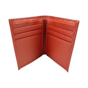 Petit Etui pochette porte carte credit, fidelité, visite en croute de cuir CHAUSSMARO