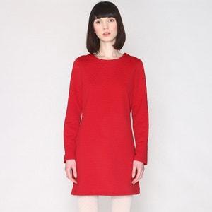 Sweatshirt Dress, Straight Cut with Long Sleeves PEPALOVES