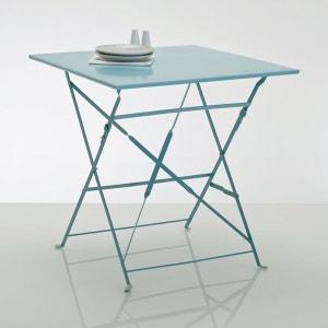 Table pliante carrée, métal La Redoute Interieurs image