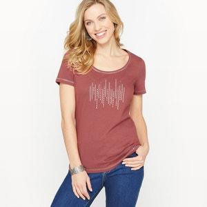Combed Cotton T-Shirt ANNE WEYBURN