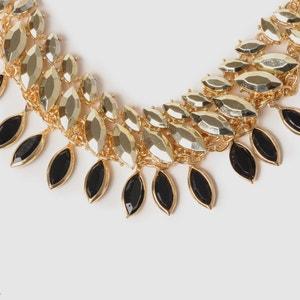 Collar de metal y perlas ANNE WEYBURN