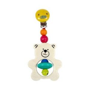 HESS SPIELZEUG Le jouet suspendu pour poussette Teddy jouet pour poussette bébé HESS-SPIELZEUG
