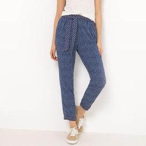 Wzorzyste, lejące spodnie typu marchewki R édition