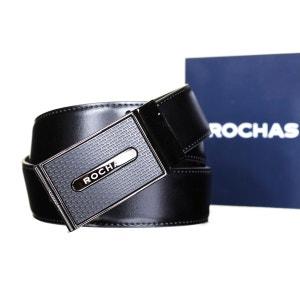 Ceinture Rochas Cr154 Noir/Marron ROCHAS