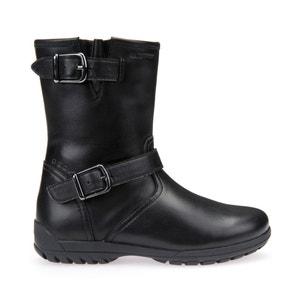 Boots, Leder