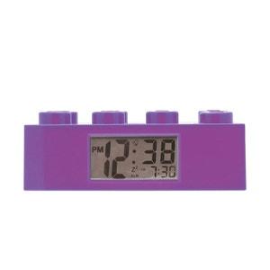 Réveil LEGO Brique Violette LEGO