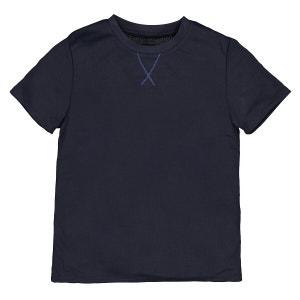 Camiseta de deporte de manga corta con parte trasera estampada 3-12 años