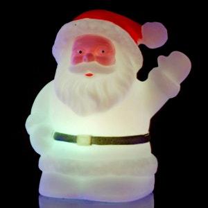 Décoration d'intérieur à LED rétro-lumineuse - Père Noël - Variation de couleurs ATMOSPHERA