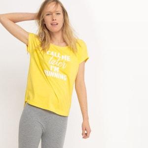 T-shirt de sport à message R essentiel
