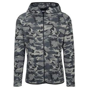 Haut de Survet Camo Urban Classics Tech Dry Fit Dark Camouflage URBAN CLASSICS