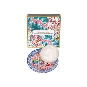 Jasmin Perle de thé - Savon 150 g et porte-savon FRAGONARD