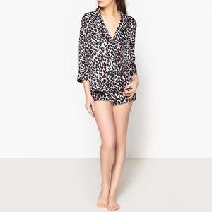 Short de pyjama imprimé léopard AUDREY LOVE STORIES