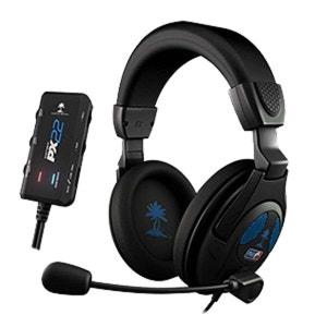 Ear Force PX22 casque filaire pour PS3  compatible PC/XBOX 360/Tablettes/ Samrtphones Turtle Beach TURTLE BEACH