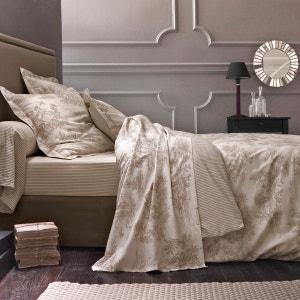 BERGÈRE Cotton Duvet Cover in Toile de Jouy Print La Redoute Interieurs