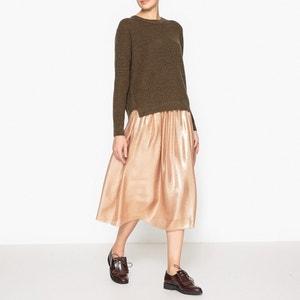 Пуловер из меланжа шерсти и льна POMANDERE