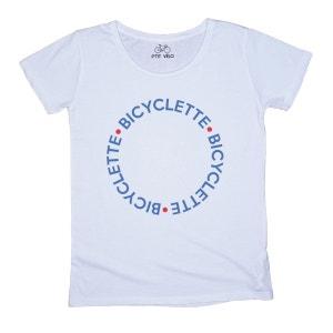 T-shirt Femme Bicyclette P TIT VELO