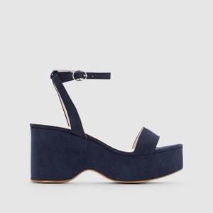 Sandalen met plateau R essentiel
