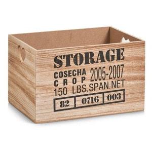 Caisse de rangement  vintage  Storage 33 x 23 x 20 cm ZELLER PRESENT