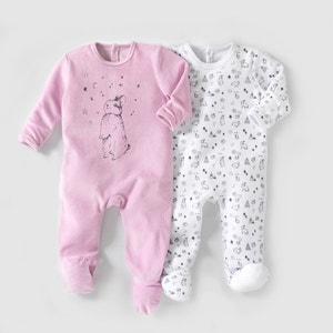 Pyjama velours (lot de 2) 0 mois-3 ans R mini