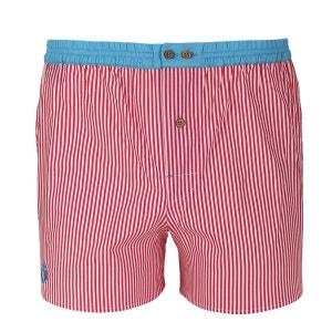 Caleçon à rayures roses avec ceinture bleue DAGOBEAR