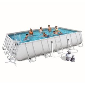 Piscine petite ou grande piscine gonflable hors sol en for Piscine tubulaire en solde