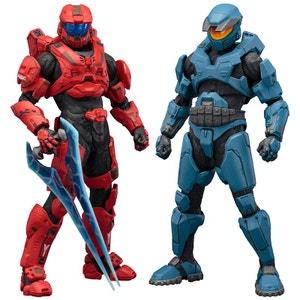 Halo pack 2 statuettes PVC ARTFX+ Mjolnir Mark V & Mark VI 21 cm HALO